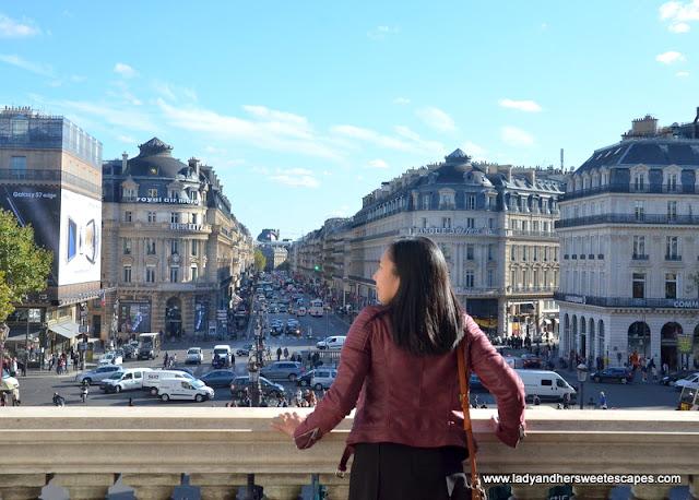 Lady at Palais Garnier