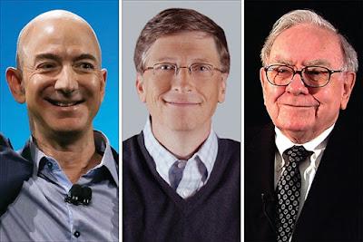 los hombres mas ricos del mundo