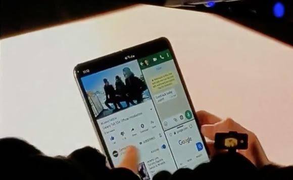 """تعرف على هاتف سامسونغ """"Galaxy Fold"""" القابل للطي وهذا سعره"""