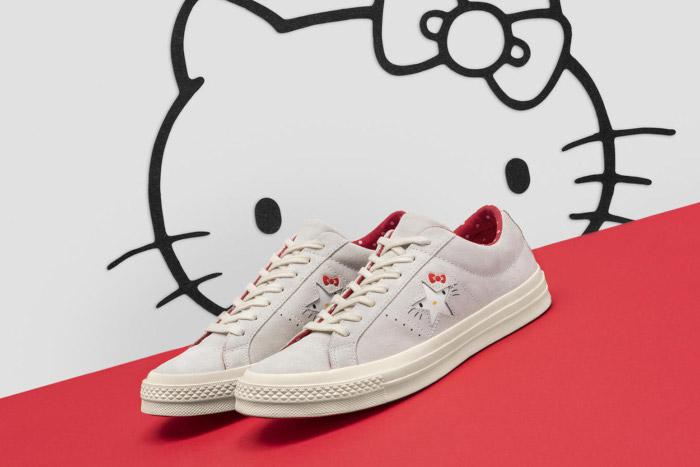 Hello Kitty x Converse 2018 Collection 02aca2175baf0