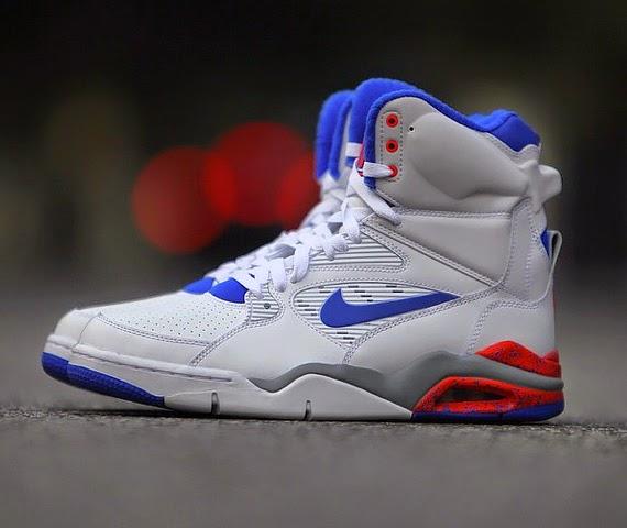 separation shoes 431b4 d6b13 Nike Air Command Force - White Lion Blue - Bright Crimson Wolf Grey