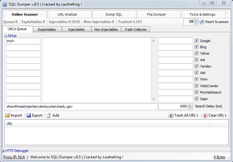 SQLi Dumper v8 5 ~ Best hacking tools for carding