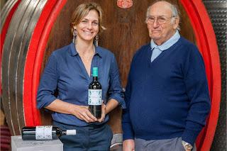 Ondine de la Feld and Stefano Aymerich Tenuta di Tavignano