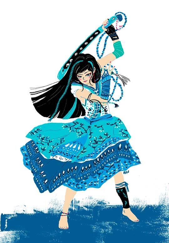 Ilustración de Paula Barbaro