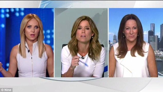 Presentadora le reclama en vivo por traer el mismo color de blusa