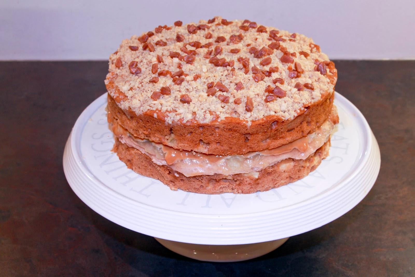 Caramel Apple Cake Recipe Waitrose