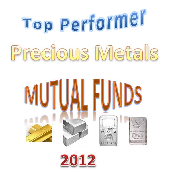 Top 12 Best Precious Metals Mutual Funds 2012 Mepb Financial