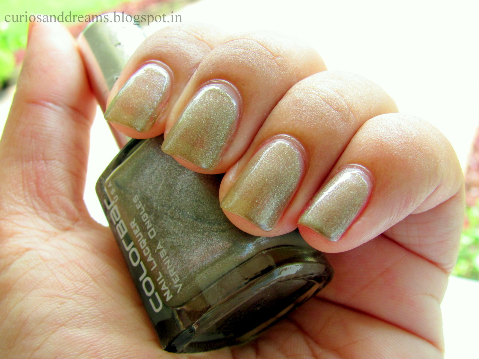 Colorbar Exclusive Nail Lacquer 06 swatch, Colorbar Exclusive 06
