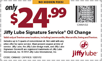 Jiffy Lube Oil Change >> Jiffy Lube Trenton New Jersey Get A Coupon For A Jiffy