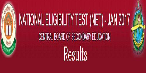 CBSE UGC NET January 2017 Results