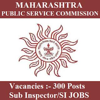 Maharashtra Public Service Commission, MPSC, PSC, Maharashtra, SI, Sub Inspector, Graduation, freejobalert, Sarkari Naukri, Latest Jobs, mpsc logo