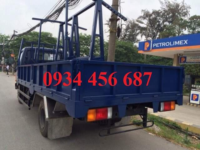 Thùng xe chở kính xe tải Hyundai 6,5 tấn