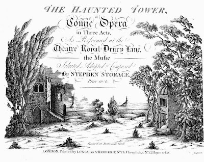 The Haunted Tower Stephen Storace 1789