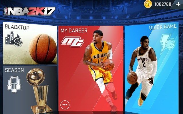 NBA 2K17 Mod Apk Data