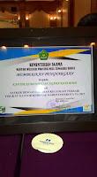 Kemnag Kota Bima Peraih Predikat Pelaporan Keuangan Terbaik tingkat Kementerian Agama se-NTB