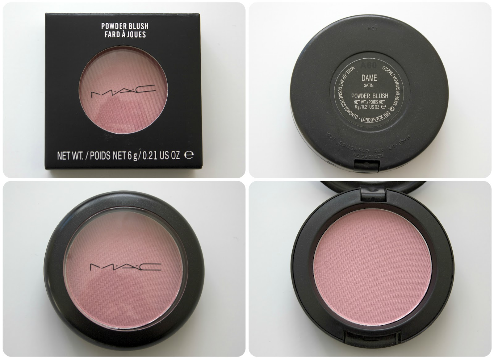 9af542c2 Peachfizzz: MAC Powder Blush- Dame