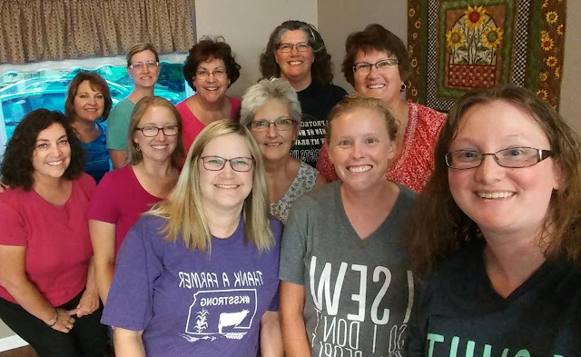 quilting retreat in Wakefield, KS