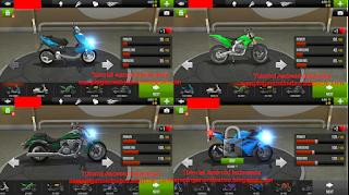 model motor trafic rider
