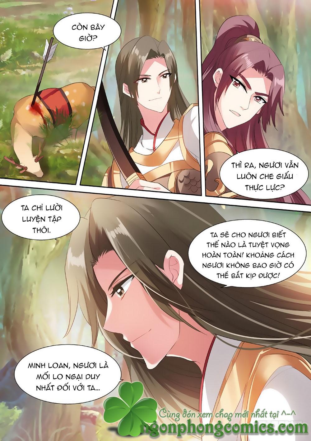 Hệ Thống Chế Tạo Nữ Thần chap 59 - Trang 9