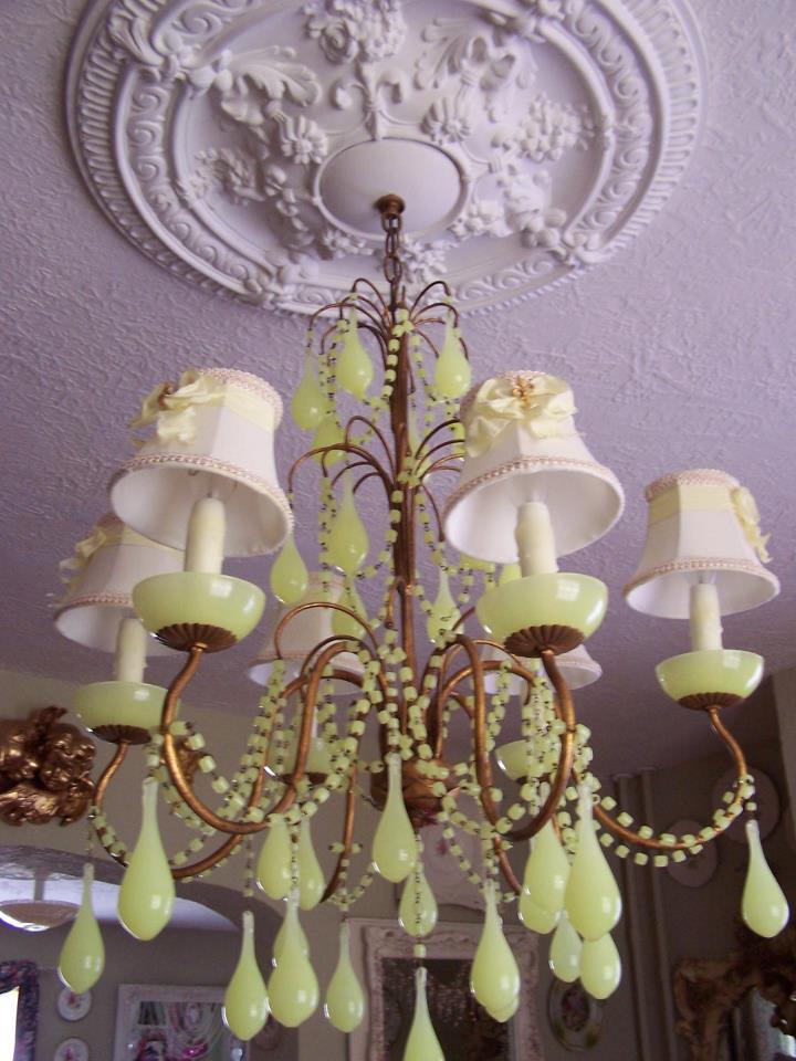 Fabulous Opaline Chandeliers
