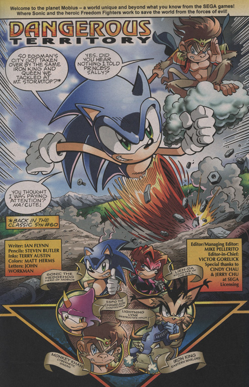 Read online Sonic The Hedgehog comic -  Issue #202 - 2