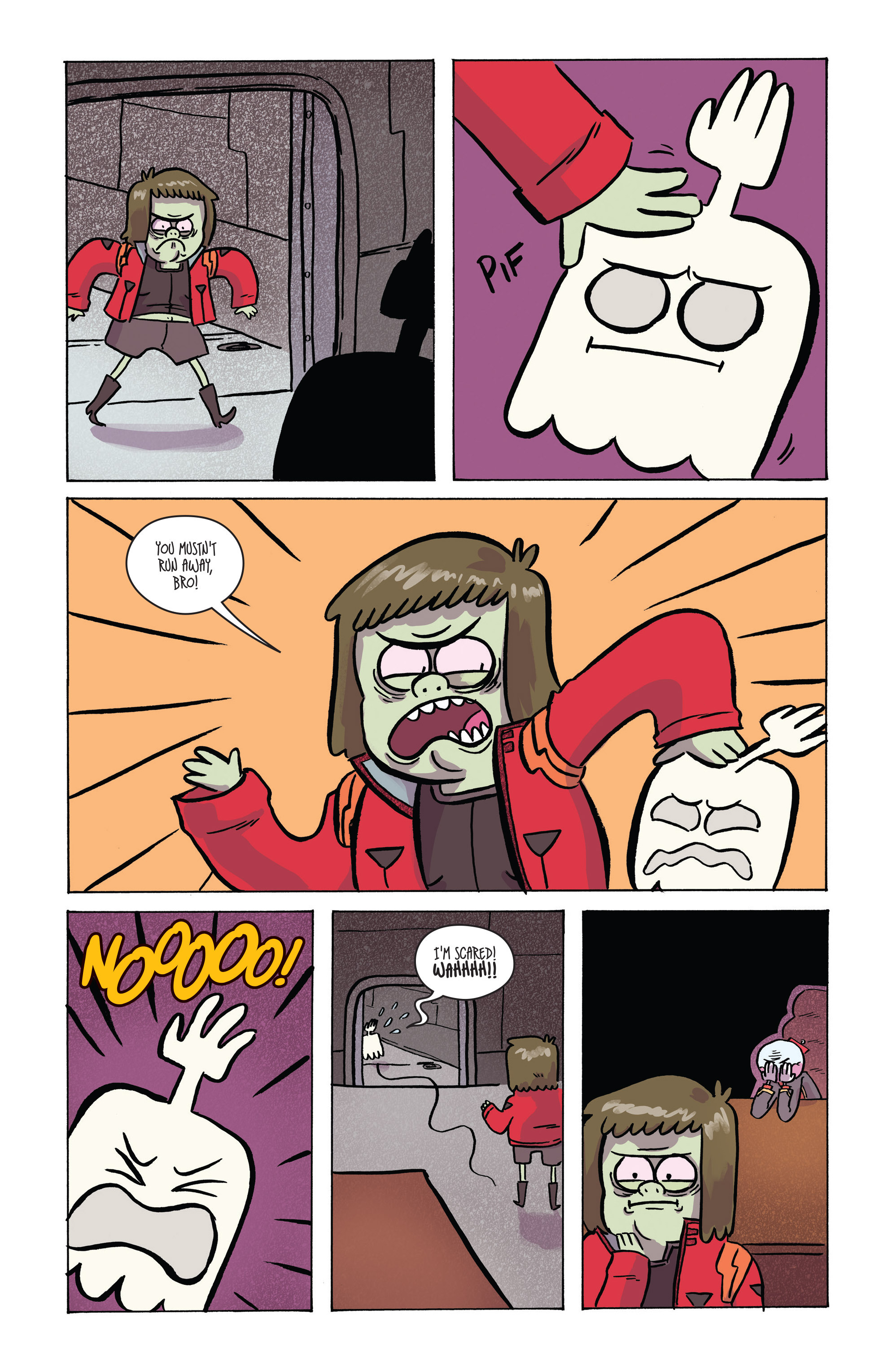 Read online Regular Show comic -  Issue # _2017 Special 1 - 15