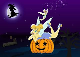 Tinkerbell Halloween Wallpaper