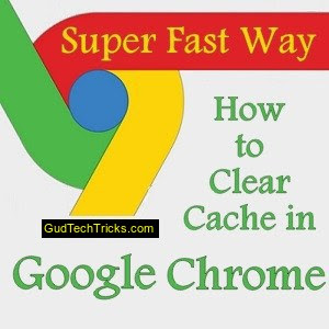 how to clear cache in chrome