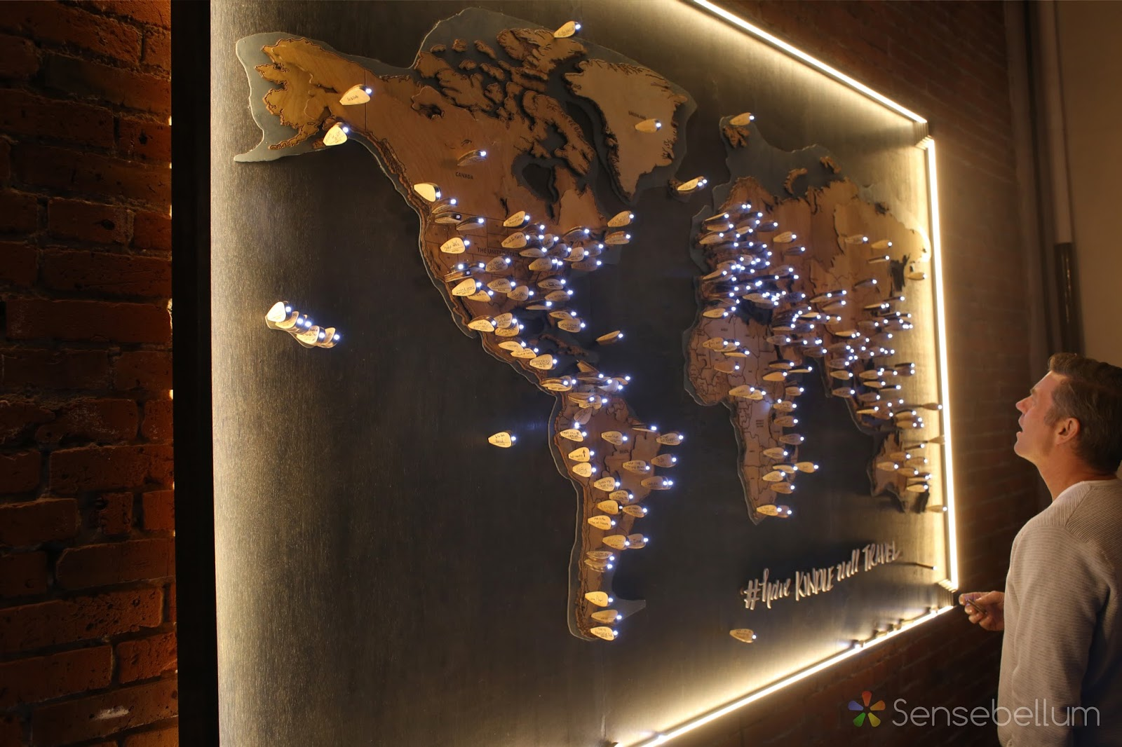 Sensebellum blog laser cut topographical world map had read all around the world a huge thank you to the people at the axis art gallery and from amazon all of which we had a great time working with gumiabroncs Choice Image