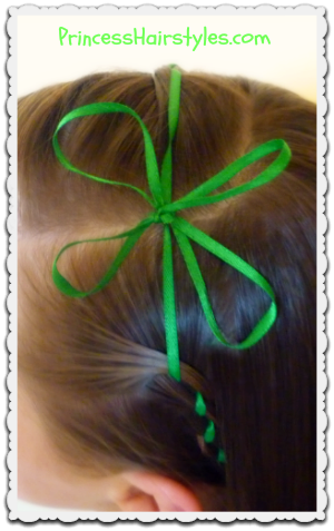St. Patrick's Day clover headband tutorial