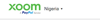 Xoom PayPal South Africa, Nigeria