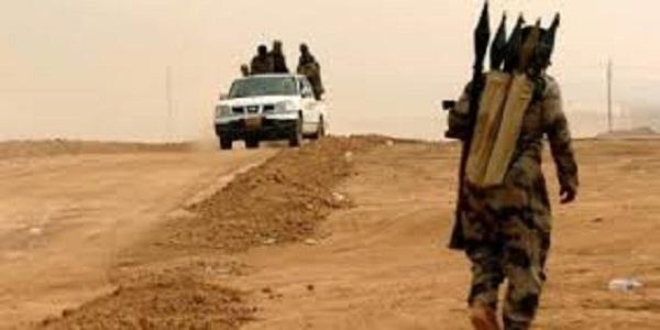 نشطاء داعش يعدم 700 رهينة شرق الفرات