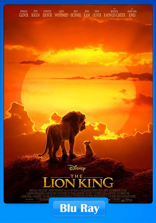 The Lion King 2019 720p BluRay ESub x264 | 480p 300MB | 100MB HEVC
