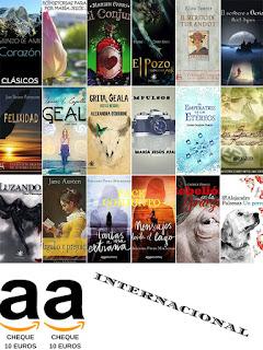 Premios Gran Sorteo Día del Libro (envío internacional)