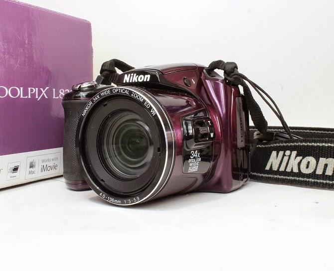Jual Kamera Prosumer Bekas Nikon Coolpix L830