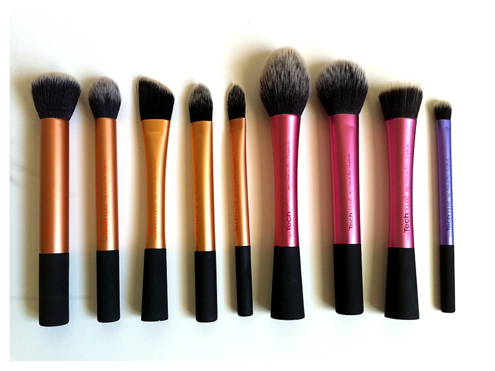lacefleur Real Techniques by Samantha Chapman Brushes Review