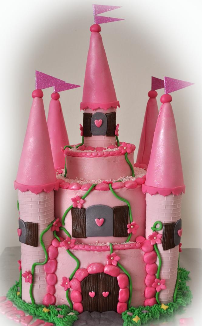 Delana S Cakes Castle Cake