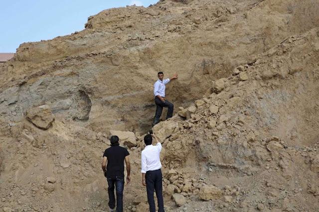 In Gaza, Hamas levels an ancient Canaanite treasure