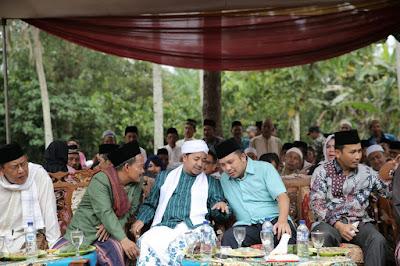 Ulama dan Masyarakat Lampung Tengah Dukung Ridho-Bachtiar