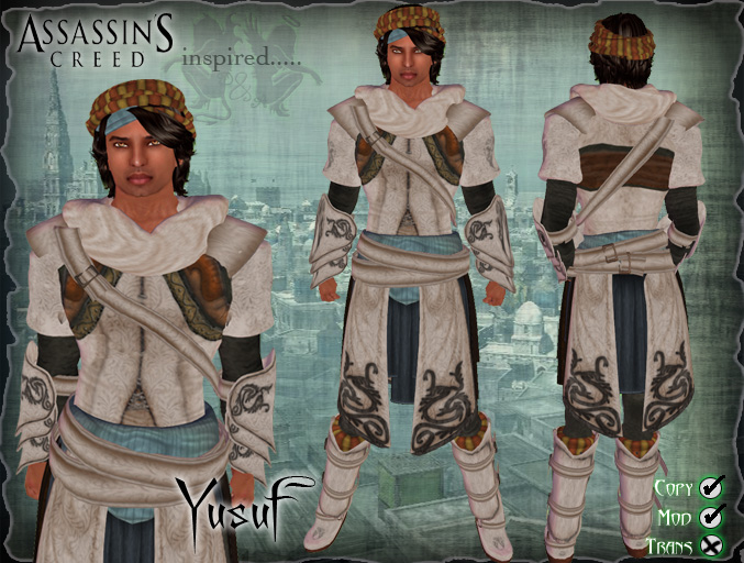 Piper Shan Designs Assassin S Creed Yusuf Master Assassin