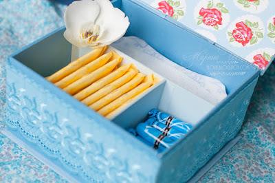 коробка для средств личной гигиены