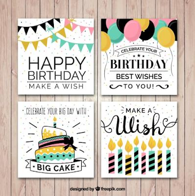 Fathonan: 10+ Kartu Ucapan Selamat Ulang tahun Keren ...