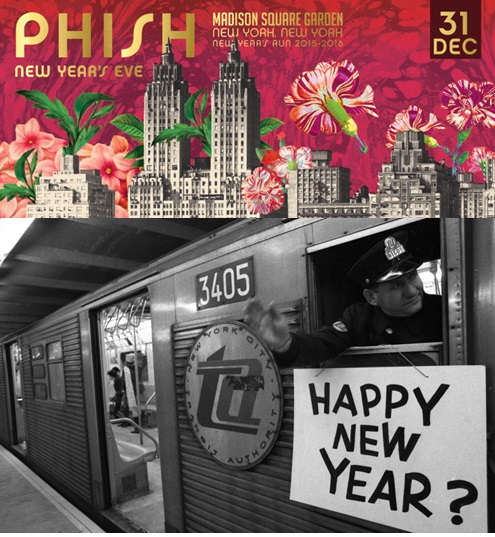 Coventry Music: Phish NYE MSG Setlist And Recap: 12/31/15 NYC