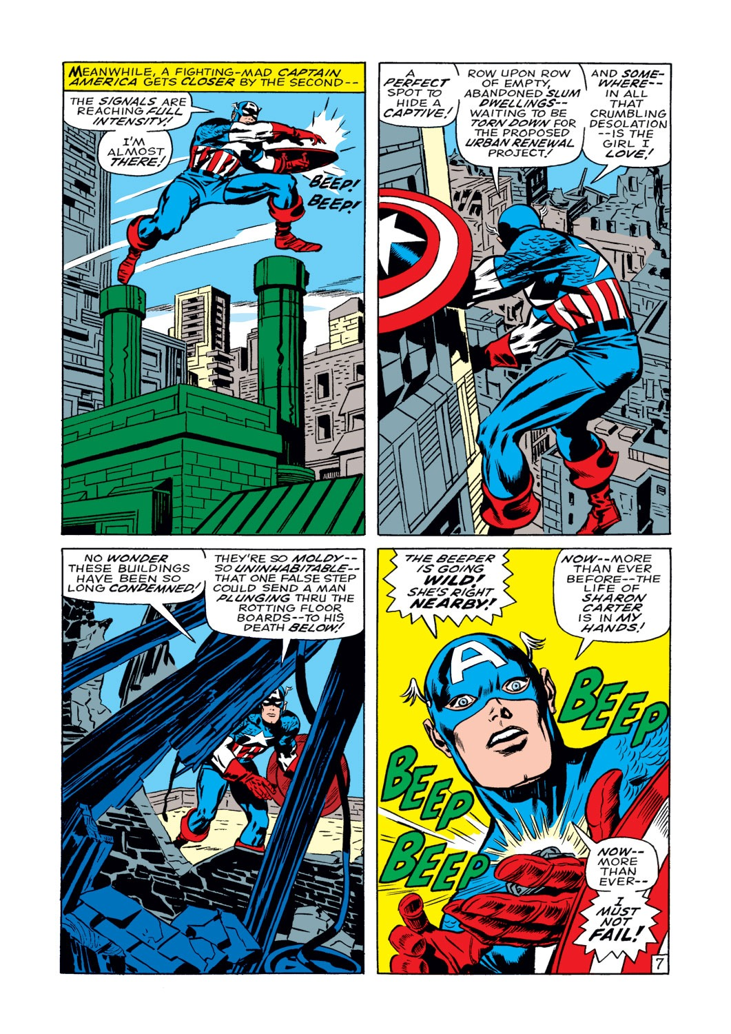Captain America (1968) Issue #108 #22 - English 8