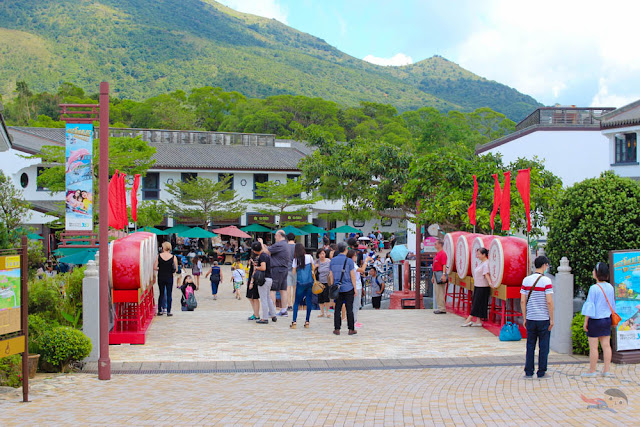 Ngong Ping Village in Hong Kong