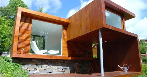 10 Contoh Desain Rumah  Minimalis Menggunakan Bahan