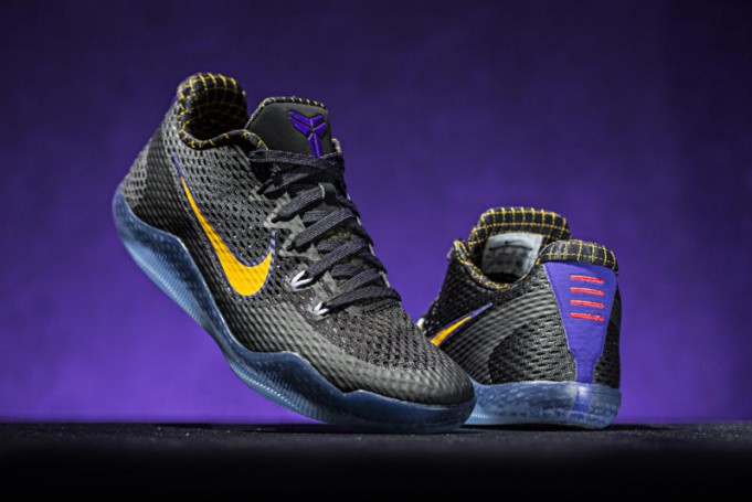 cheap for discount 3a6d6 0570a The Carpe Diem colorway, last seen on the Kobe IV will be back and this time  on the Kobe 11. For this model, black upper with hits purple and gold can be  ...