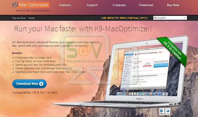 K9 MacOptimizer