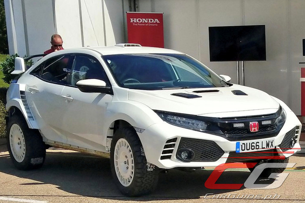 if the honda civic type r would go rallying it would look. Black Bedroom Furniture Sets. Home Design Ideas