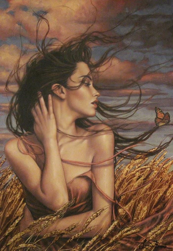 Sonho de Primavera - Lauri Blank e suas pinturas cheias de emoções